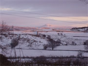 View from Coach House over Ingleborough